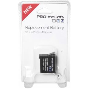 Image of Pro-Mounts Replacement battery GoPro Hero4