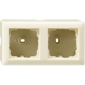 Image of 006201 - Surface mounted housing 2-gang 006201