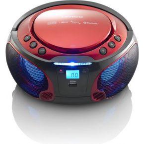 Lenc CD MP3 speler SCD-550 Rood