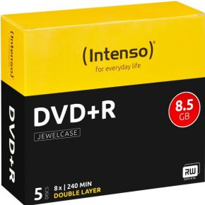 Image of DVD+DL 8x JC 8,5GB 5St