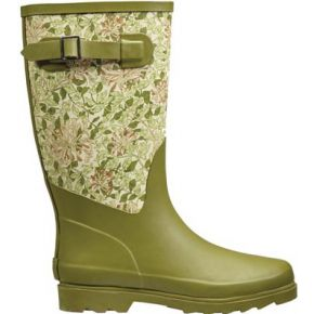 Image of Honeysuckle Fabric Feel Rubber Boot size 4/37 - Quality4All