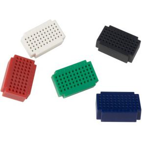 Image of Set Mini Breadboards - 55-polig - 5 St.
