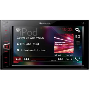 Pioneer MVH-AV290BT 2-DIN MP3-Autoradio met Bluetooth-USB-iPod-AUX-IN