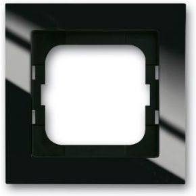 Image of 1721-281 - Frame 1-gang black 1721-281