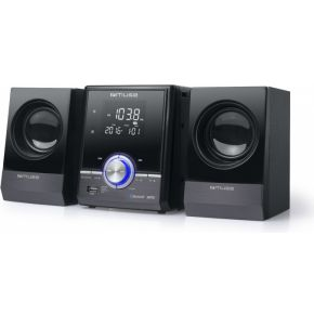 Muse M-38 BT Mini hifi-systeem met CD-MP3,USB & bluetooth