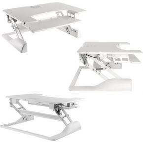 Image of Newstar NS-WS100WHITE desktop sit-stand workplace
