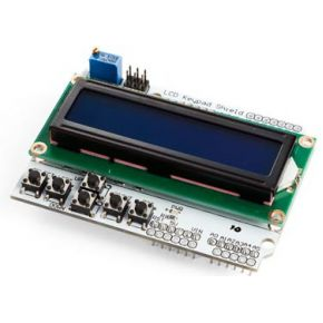 Image of Lcd & Keypad Shield Voor Arduino®