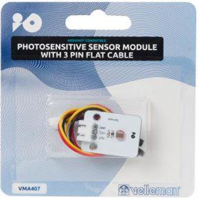 Image of Lichtgevoelige Sensormodule Met 3-polige Platte Kabel Compatibel Met Arduino®
