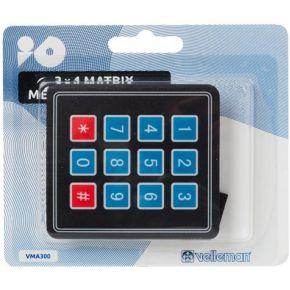 Image of Membraantoetsenbord 3 X 4