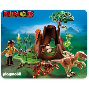 Image of Dino's - Deinonychus en Velociraptor-familie