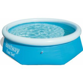Image of Bestway Fast Set Pool Zwembad 2.44m x 66cm - blauw