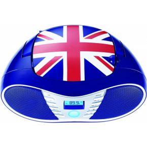 Image of Bigben Interactive Sterke radio / CD speler met USB - Britse vlag