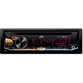 Image of JVC Autoradio enkel DIN 4 x 50 W Audio, 5.1 (3.5 mm jackplug), USB