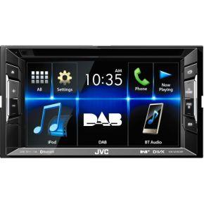 Image of JVC Autoradio met scherm dubbel DIN 4 x 50 W USB