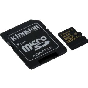Kingston Micro SDHC Gold 16GB SDCG-16GB
