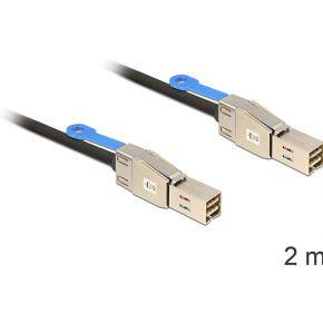 Delock Harde schijf Aansluitkabel [1x Mini-SAS-stekker (SFF-8088) 1x Mini-SAS-stekker (SFF-8088)] 2.