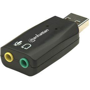 Manhattan Hi-Speed USB 3D sound adapter
