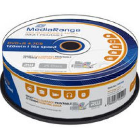 Image of MediaRange MR408 (her)schrijfbare DVD's