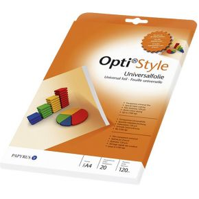Image of Opti style Universal Foil A4 transparent for Inkjet 20 Sheet