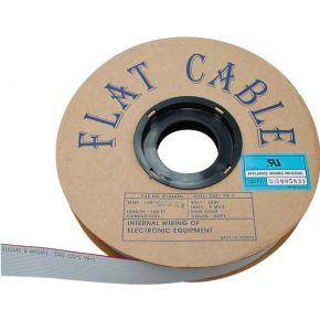 Image of Platte Kabel 34 Geleiders Grijs. 30m