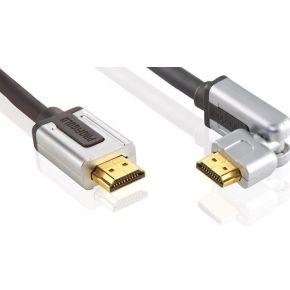 Profigold Roteerbare High Speed HDMI® met Ethernet kabel-1.0 meter