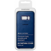 Samsung Galaxy S8 Alcantara Cover EF-XG950AL Blauw