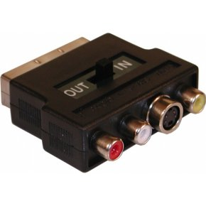 Sandberg Scart Universal Adapter IN-OUT (502-18)