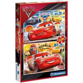 Clementoni Cars 3 Puzzel 2x20 Stukjes