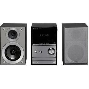 PANASONIC SC-PM602EG-S micro-hifi-set, Bluetooth, digitale radio (DAB+), RDS, 1x USB