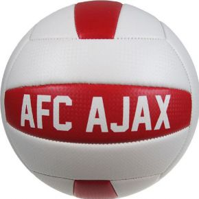 Ajax beachbal wit-rood