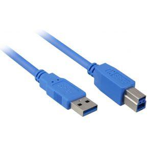 USB 3.0 Kabel, USB-A > USB-B