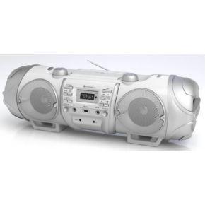 Image of DAB+ Ghettoblaster SoundMaster SCD8000 AUX, Bluetooth, CD, DAB+, FM, USB Wit
