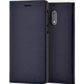 NOKIA Slim Flip Case voor Nokia 6 Blauw