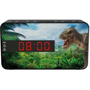 Bigben Interactive Wekkerradio voor kinderen met LED display dinosaurus