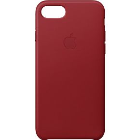 Apple Leren hoesje iPhone 8-7 (PRODUCT)RED