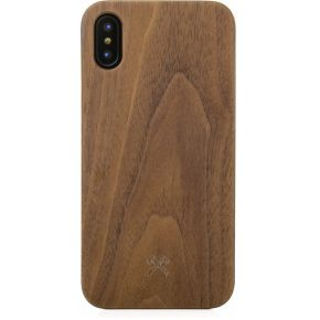 Woodcessories EcoCase Classic iPhone X walnut + black