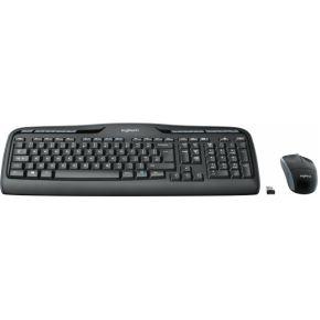Logitech MK330 RF Draadloos QWERTZ Duits Zwart toetsenbord