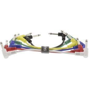 Mono Audiokabel 6.35 mm Male 6.35 mm Male 0.15 m Donkergrijs