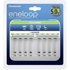 Panasonic Eneloop 8-cellen laadapparaat zonder accu's