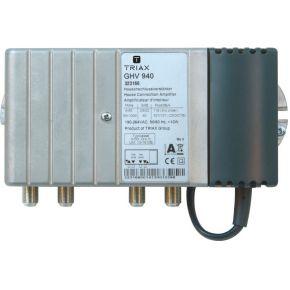 GHV 940 CATV-amplifier Gain VHF40dB Gain UHF40dB GHV 940