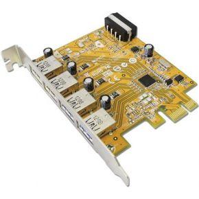 Sunix USB4300N Intern USB 3.0 interfacekaart--adapter