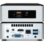 Vision VMP-CE5CPYH CELERON 4K VMP 60GB 7.1 3840 x 2160Pixels Zwart, Zilver digitale mediaspeler
