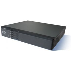 Cisco 867VAE Ethernet LAN Zwart bedrade router