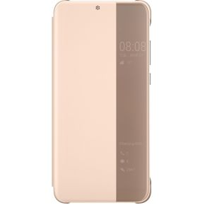 Huawei P20 Pro Smart View Flip Cover Roze