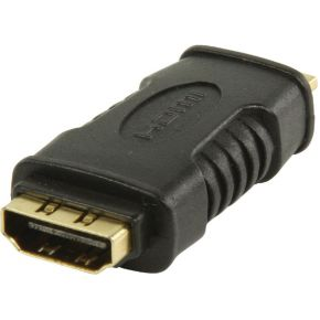 HDMI-adapter HDMI mini-connector HDMI input zwart