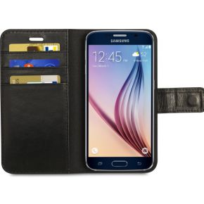 dbramante1928 Leather Wallet Copenhagen Galaxy S6 Zwart