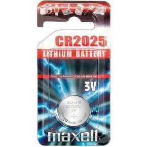 Maxell Batterij Maxell 3V Knopfzelle CR2025 einzeln (CR2025-B1 MXL)