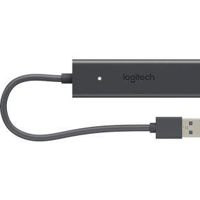 Logitech Screen Share 1920 x 1080Pixels Zwart USB grafische adapter
