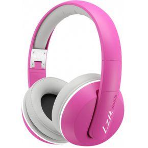 Magnat LZR 180414 Koptelefoon Roze, Wit