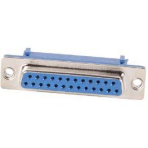 Image of Vrouwelijke 25p Sub-d Connector Voor Platte Kabel